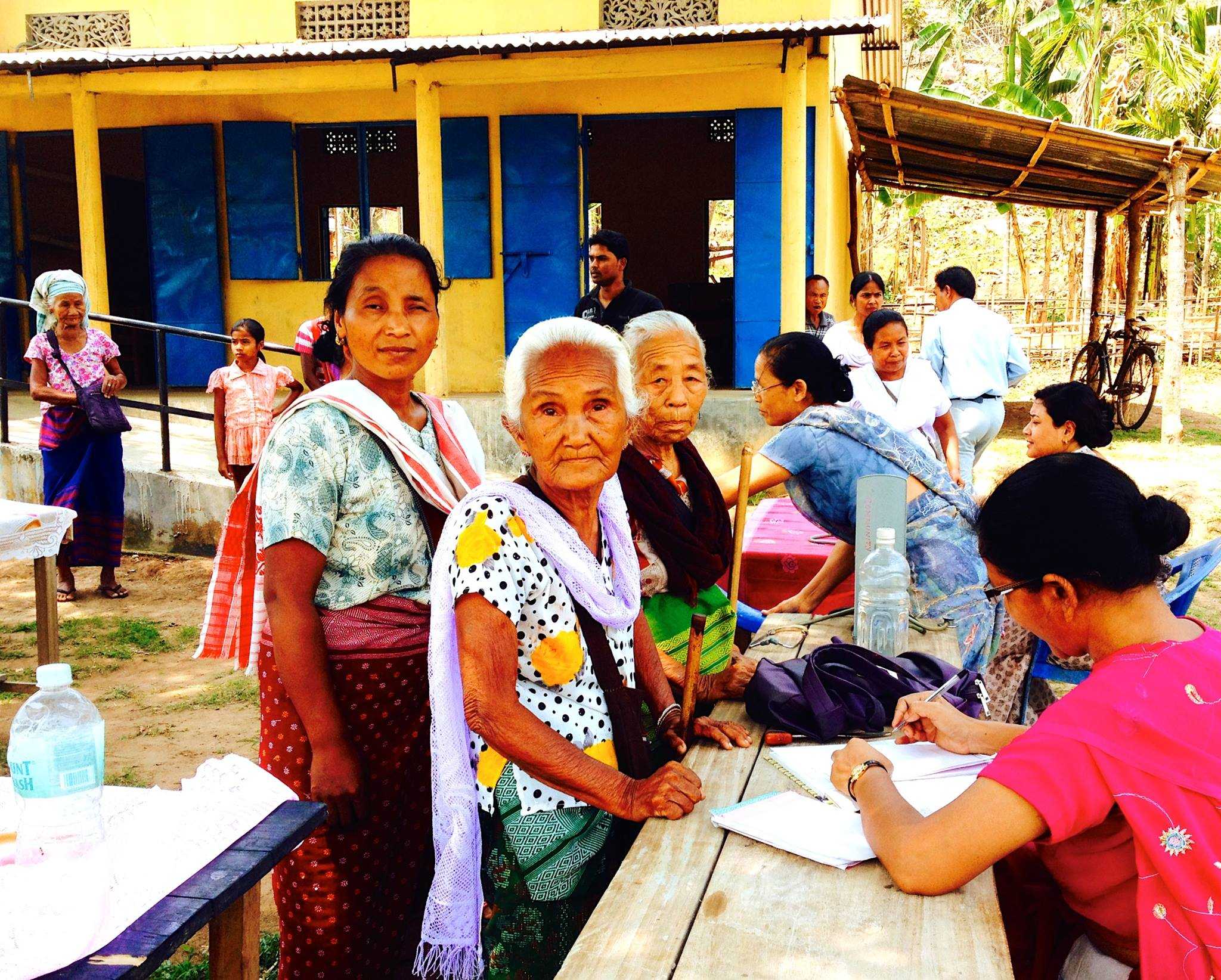 4B-Satribari Christian Mission Hospital, adding wings to reach out to rural Assam through Re 1 program for the needy. Program so far has more than 60,000 patrons.
