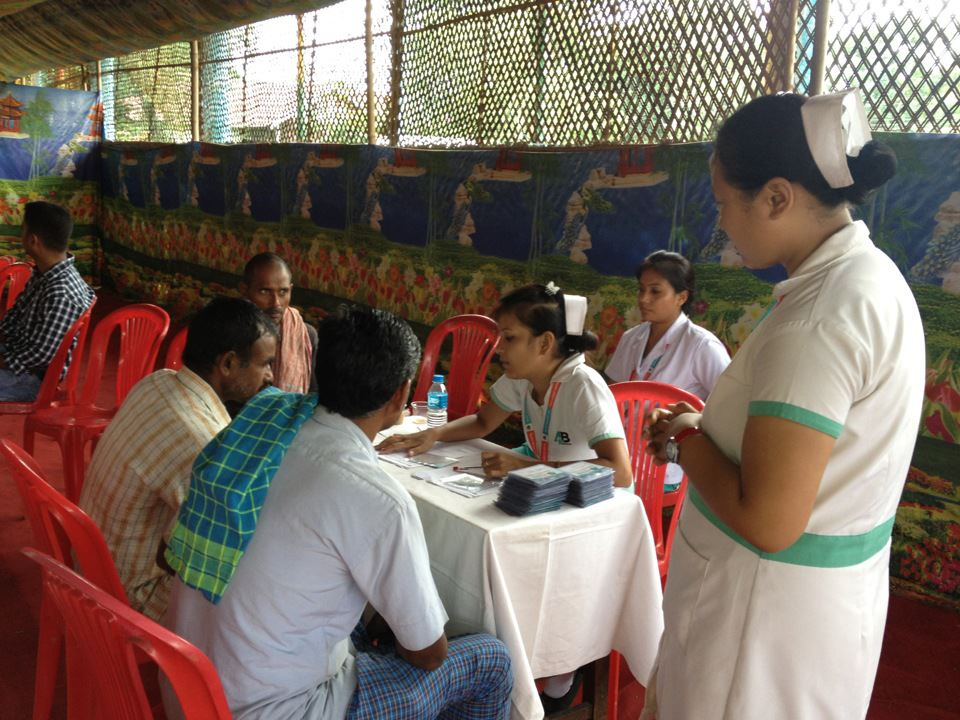 Medical Camp in rural Assam