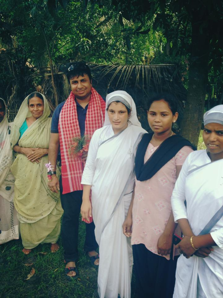 Widow's Rehabilitation Program at Sunderban Islands, most of these women lost their husbands to tiger attacks.